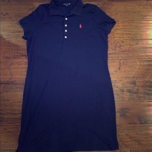 XL Ralph Lauren Navy Dress NWOT